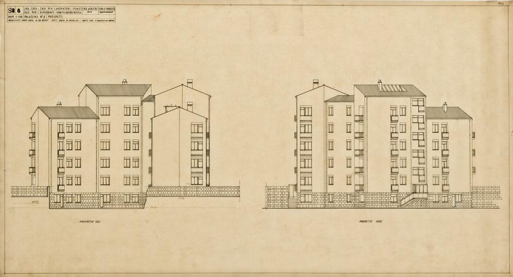Case per lavoratori a Montesacro, viale Ionio - via Veglia, Roma
