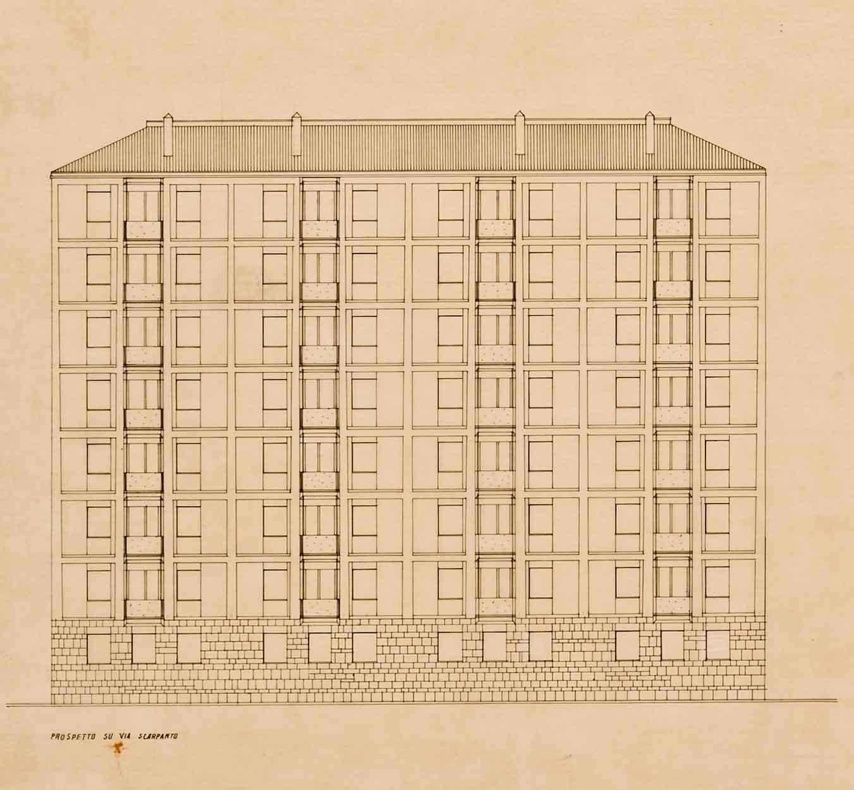 Case per lavoratori a Montesacro in via Scarpanto - piazza dei Prati Fiscali, Roma