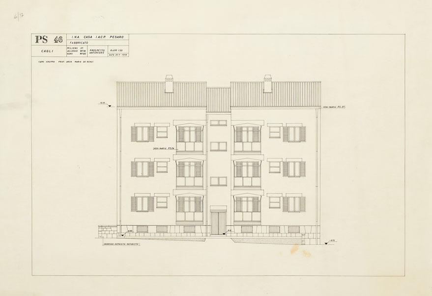 Case per lavoratori a Cagli, Fermignano, Fossombrone, S. Angelo in Vado, Urbania, Urbino