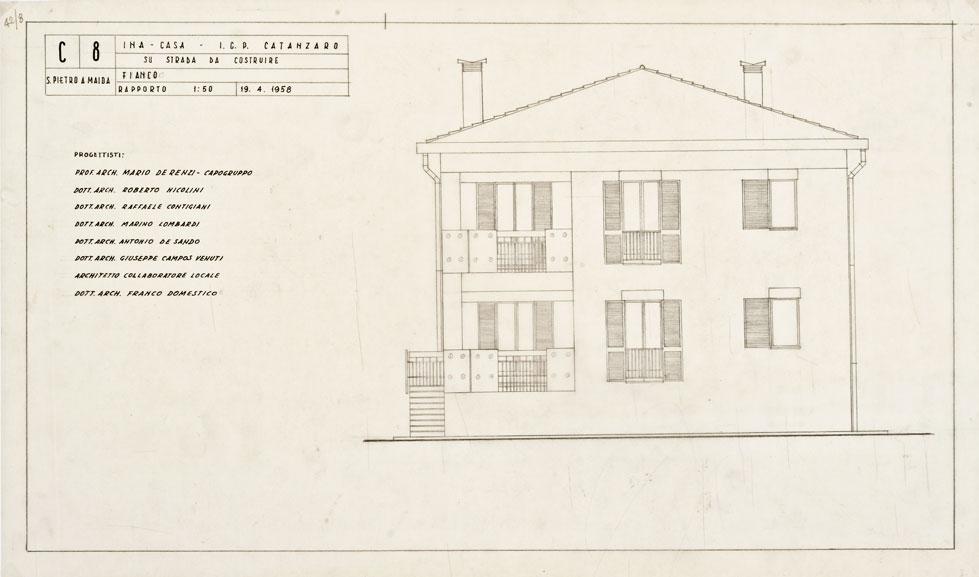Case per lavoratori a S. Pietro a Maida, Catanzaro