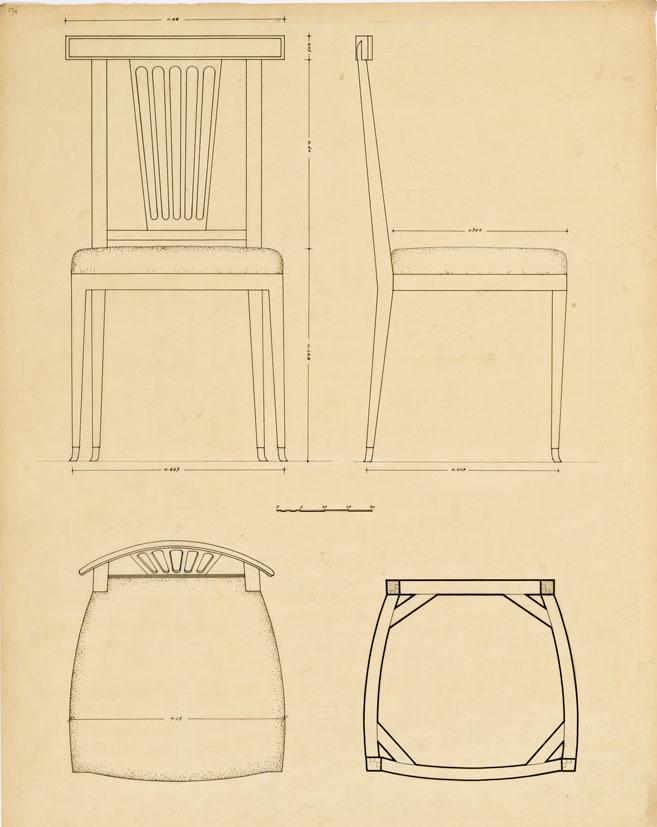 Progetti per sedie