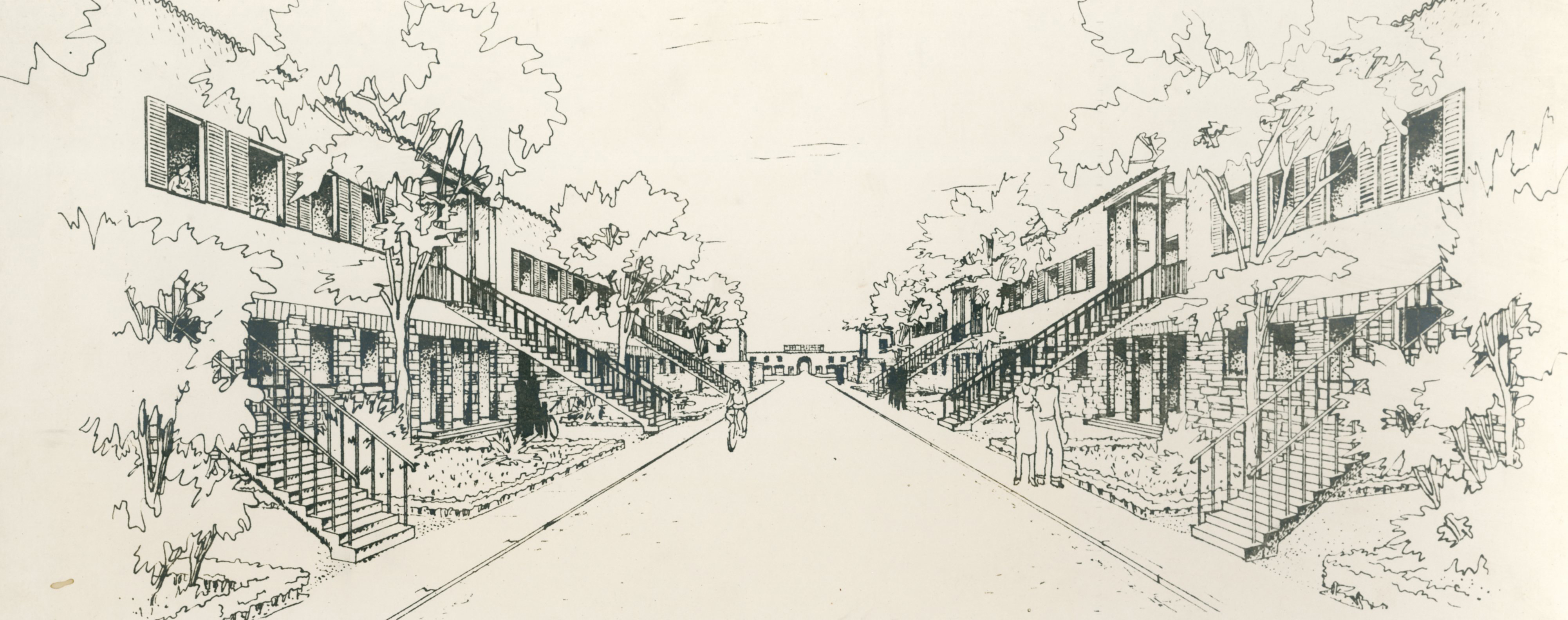 """Progetto di villaggio operaio Regina Martina """"Santa Barbara"""", Narni"""