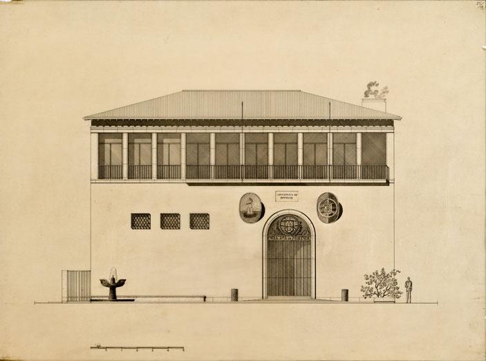 Ampliamento e restauro della dipendenza dell'ex Villa Elia, sede dell'Ambasciata del Portogallo presso la Santa Sede, da adibirsi a sede della nuova Cancelleria dell'Ambasciata, Roma