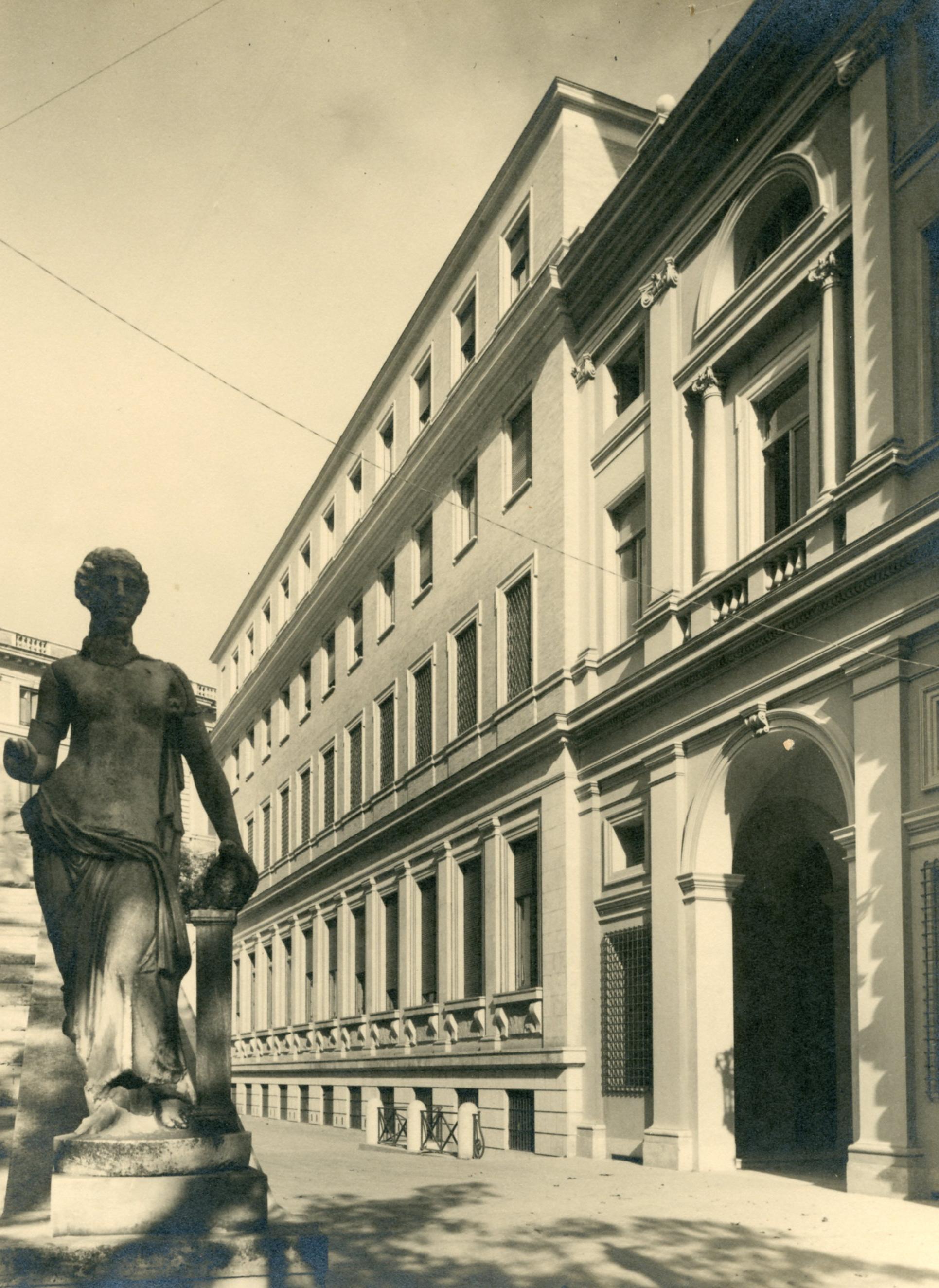 Sistemazione e ampliamento della sede dell'Ambasciata USA in via Veneto, Roma