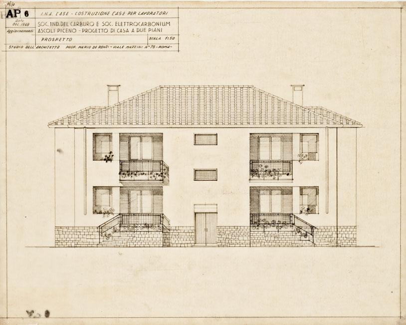 Case a due piani per lavoratori, Ascoli Piceno