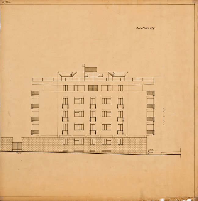 Lottizzazione di un'area e realizzazione di quattro palazzine in via Venturi - via Tommasini, Roma