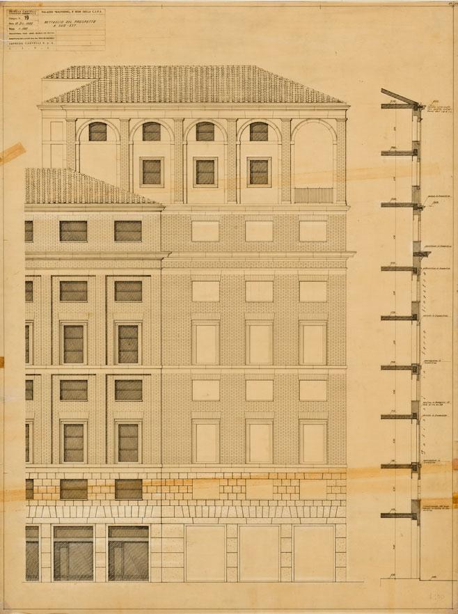 Palazzo per uffici (nuova sede YMCA/CIFI)  in piazza Indipendenza, Roma