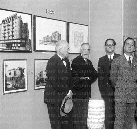 Roma, giugno-luglio 1932<br>Mostra di architettura moderna e di arredamento